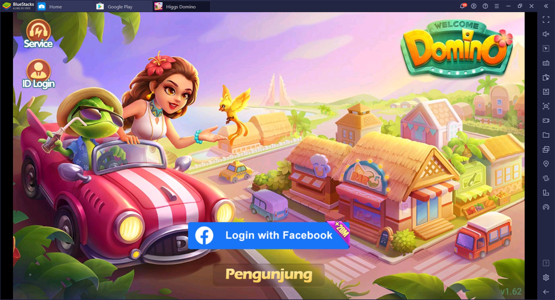 Game domino QQ online PC